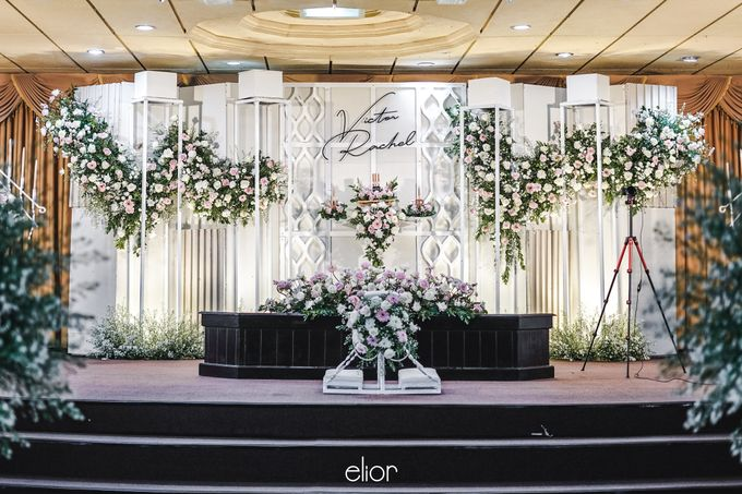 The Wedding of Victor and Rachel by Elior Design - 002