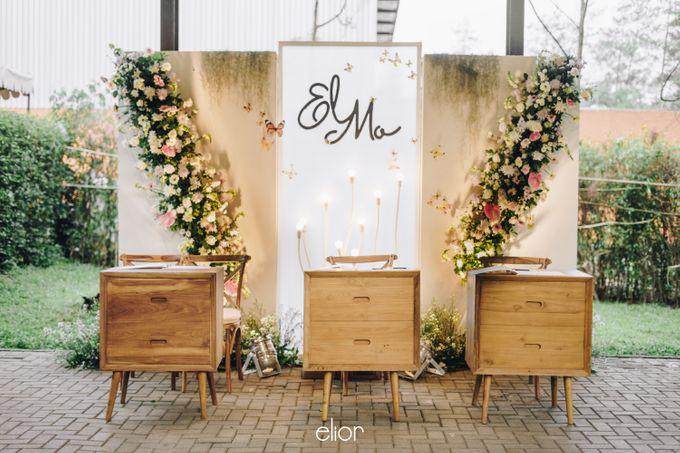 The Wedding of Monique & Gabriel by Elior Design - 004
