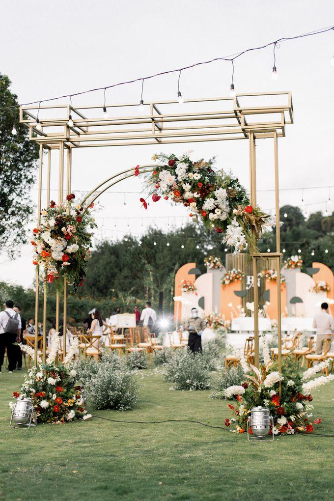 The Wedding of Hansen and Nerisa by Elior Design - 001