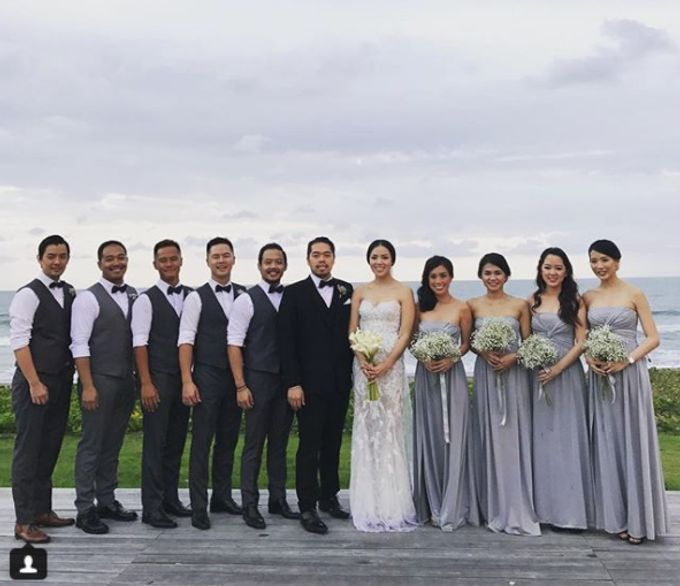 Lonardo and Felicia s wedding with ocean view by DASA Catering - 007