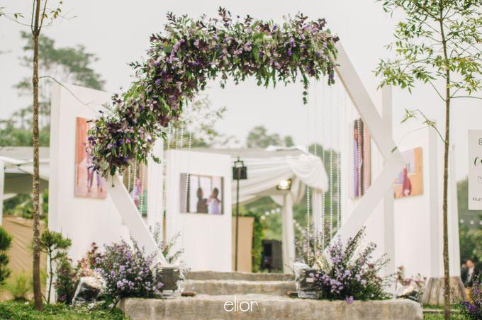 The Wedding of Eriely Lukman by Elior Design - 006