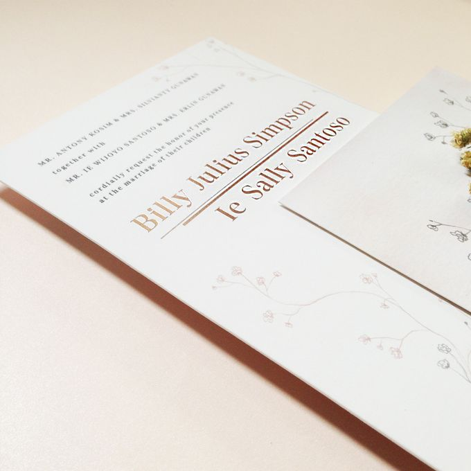 Billy & Sally Wedding Invitation by Khayangan Estate - 008