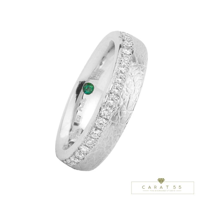 Contemporary Wedding Bands by Carat 55 - 005