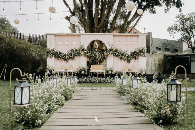 Wes Anderson Wedding Theme of of Nazura & Ichsan by Elior Design - 028