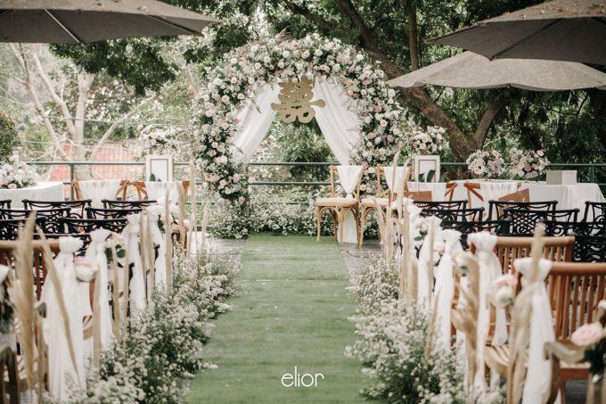 The Wedding of Stephan & Gabby by Elior Design - 024