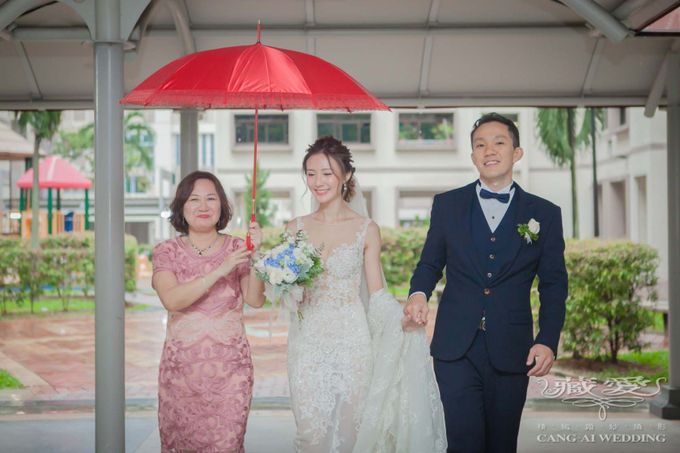 Actual Day by Cang Ai Wedding - 014