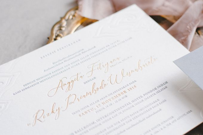 Anggita & Rizky by The Fine Press - 005
