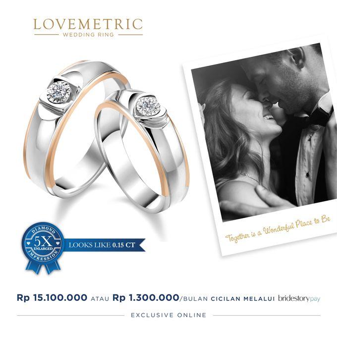 Wedding Ring Lovemetric Series by Adelle Jewellery - 004
