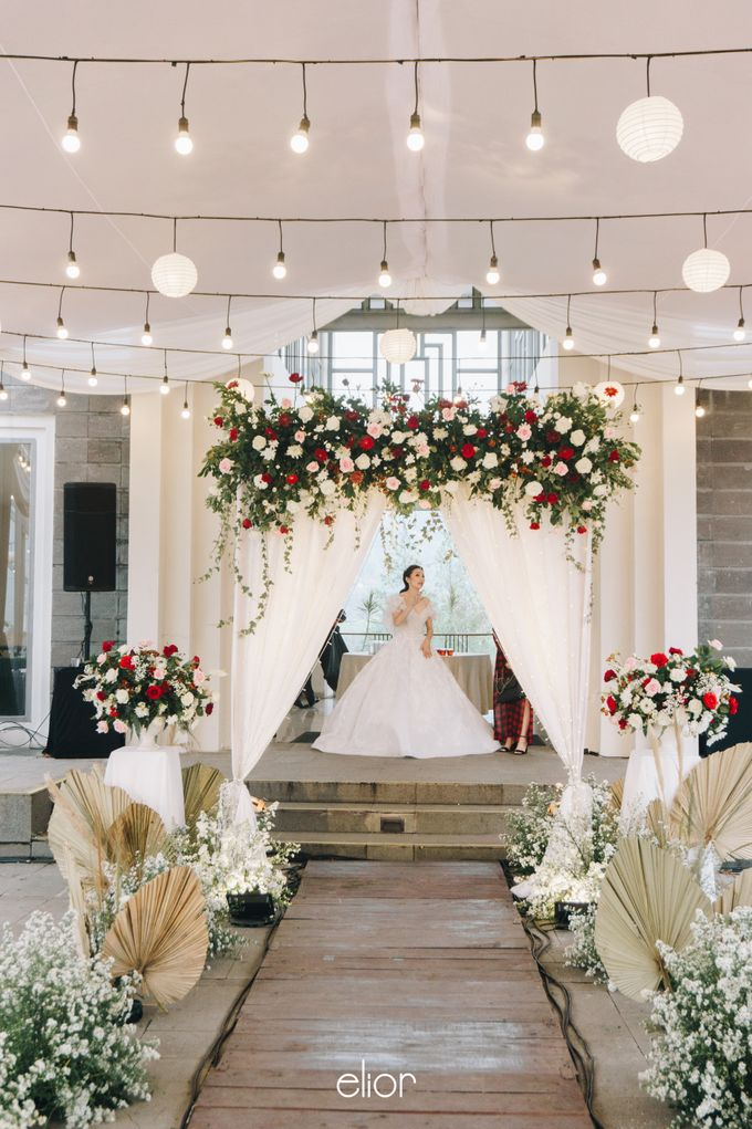 The Wedding of Steven & Evelyn by Elior Design - 019