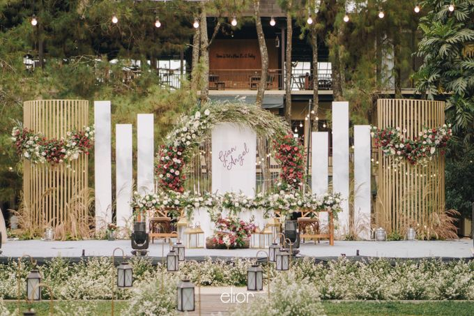 The Wedding of Gian & Angel by Elior Design - 024