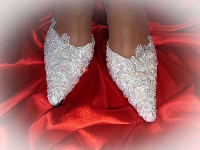BRIDAL SHOES by Pamela Falli - 034