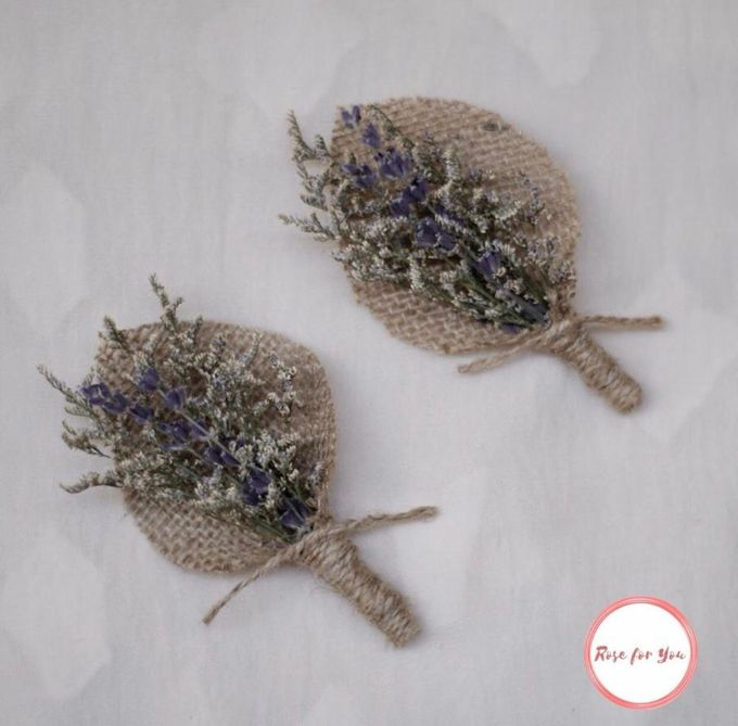 Boutonniere & Corsage by Rose For You - 005