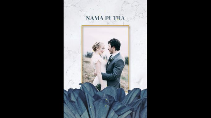Undangan digital video pernikahan invitation 0203 by ADSA INVITATION - 005