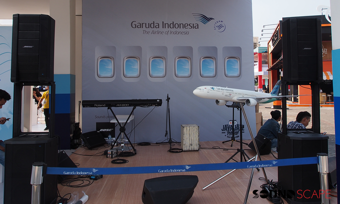 Garuda Indonesia - Java Jazz 2018 by SOUNDSCAPE - BOSE Rental Audio Professional - 005