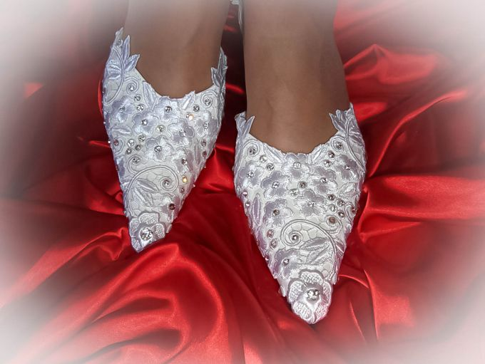 BRIDAL SHOES by Pamela Falli - 020