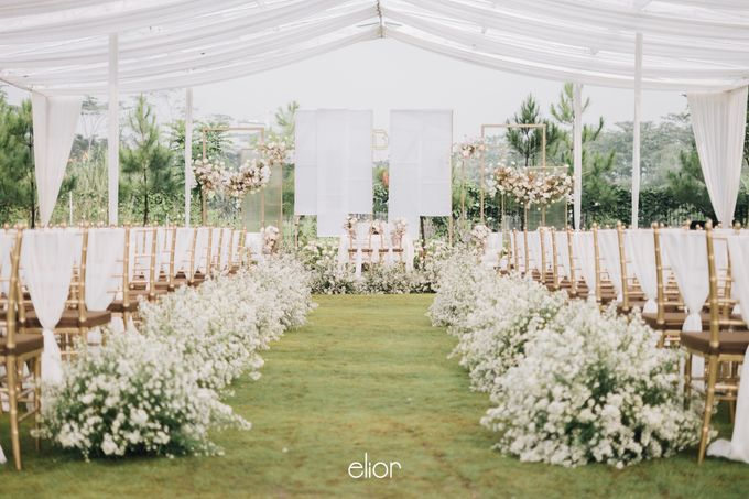 The Wedding of David & Bianca by Elior Design - 034