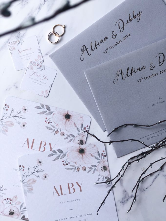 The Wedding of Alfian & Debby by SentimeterCard - 005