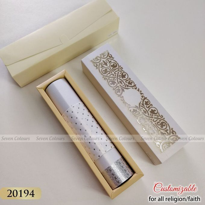 Designer wedding invitations collection by SEVEN COLOURS CARD - 023