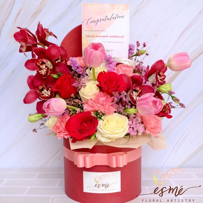 Flower Box by Esme Floral Artistry - 023