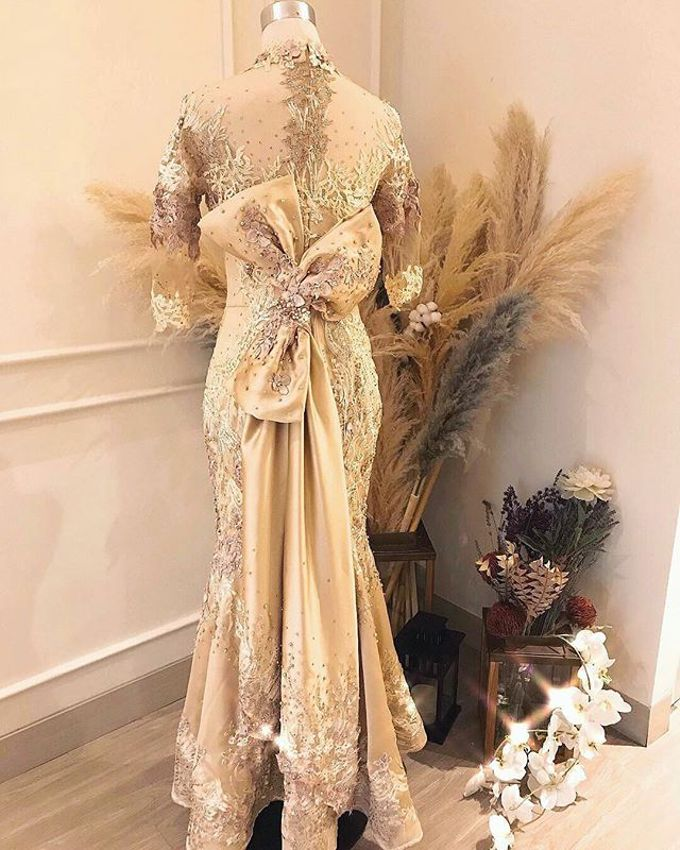 Gold Theme Dress by Berta Chandra Couture - 007