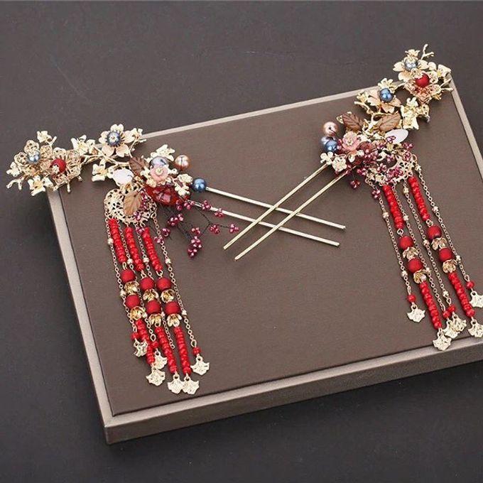 Headpiece & Crown by Ilona Headpiece & Crown - 024