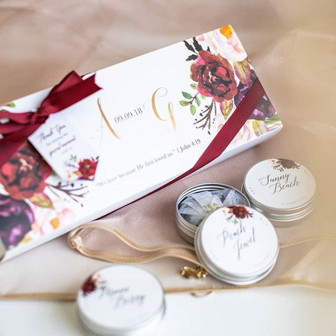 The wedding of Alex & Grace by Tea & Co Gift - 003