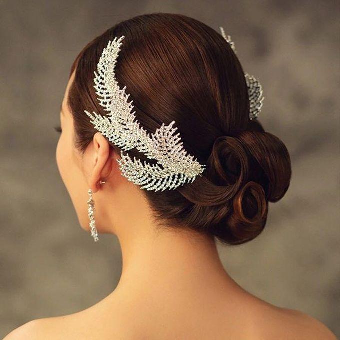 Headpiece & Crown by Ilona Headpiece & Crown - 016