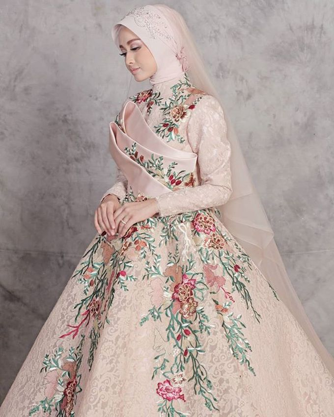 Gester Muslim Bridal by Gester Bridal & Salon Smart Hair - 034