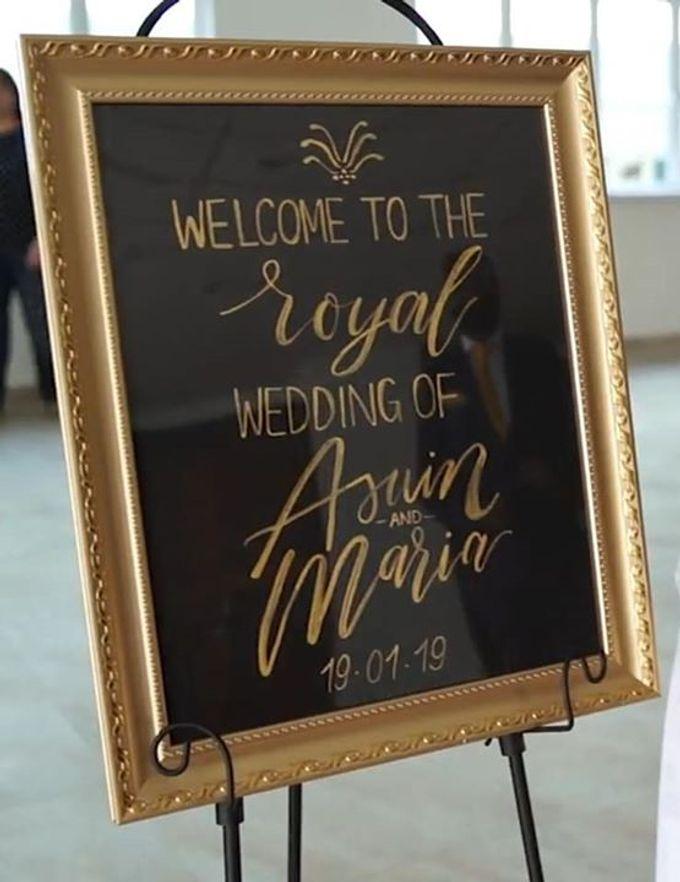 Royal Wedding by Dorcas Floral - 007