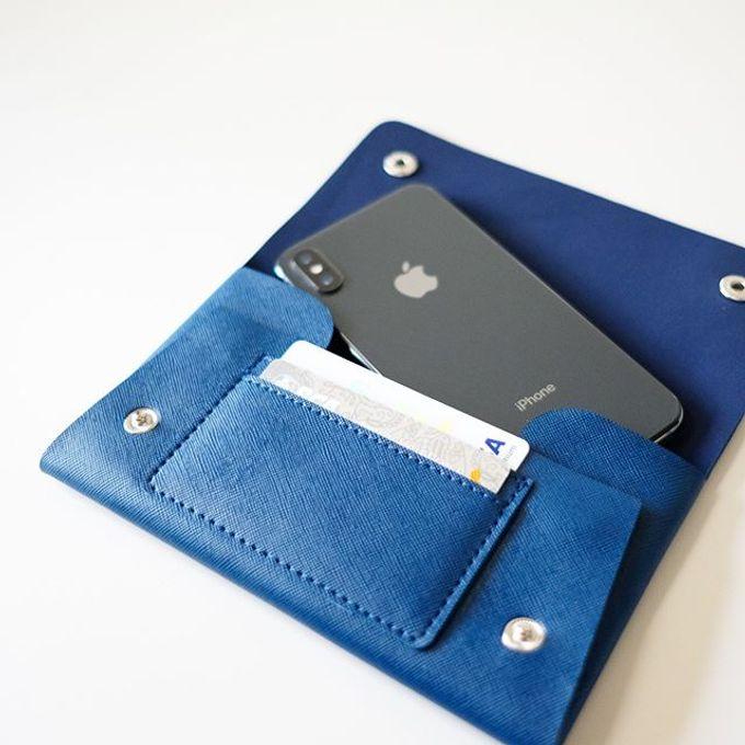 Handphone & Card Wallet by Le'kado - 014