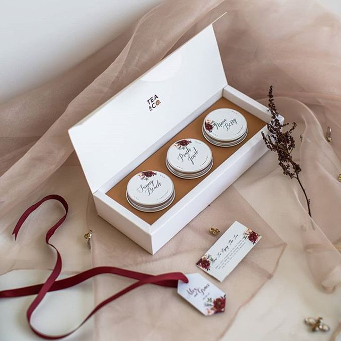 The wedding of Alex & Grace by Tea & Co Gift - 005