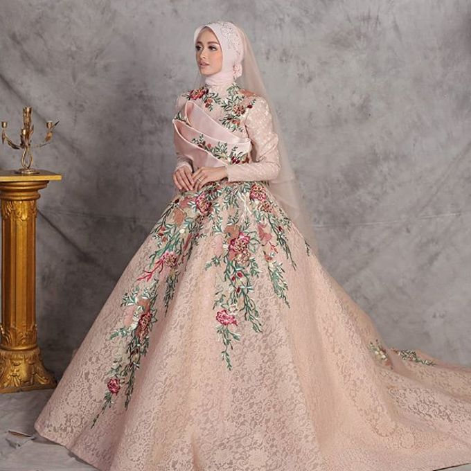 Gester Muslim Bridal by Gester Bridal & Salon Smart Hair - 036