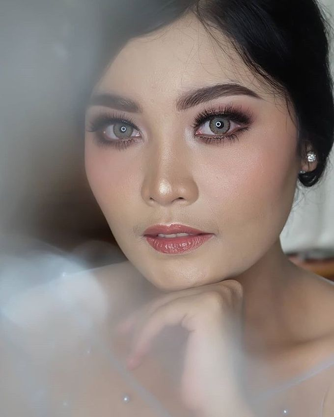 engagement makeup by White Make Up and Hair Do - 011
