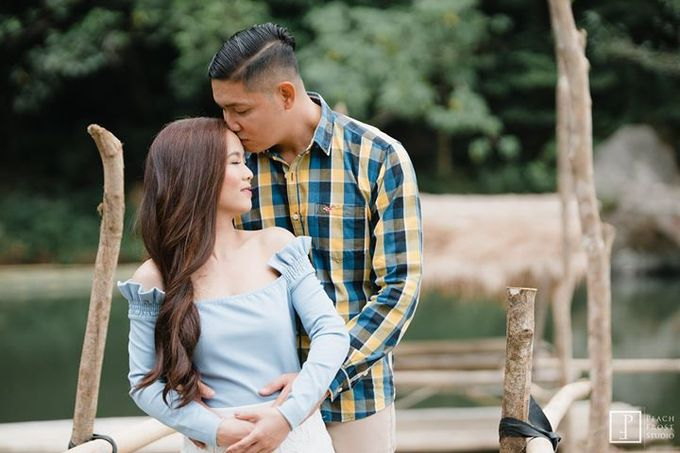 Nature Themed Pre Wedding of Jed & Joan by Peach Frost Studio - 008