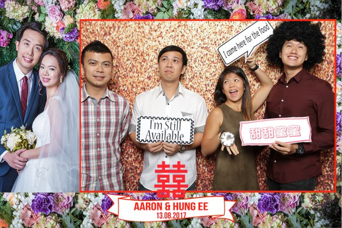 Aaron and Hung Ee Wedding 13082017 by Yvonne Creative Bridal - 005