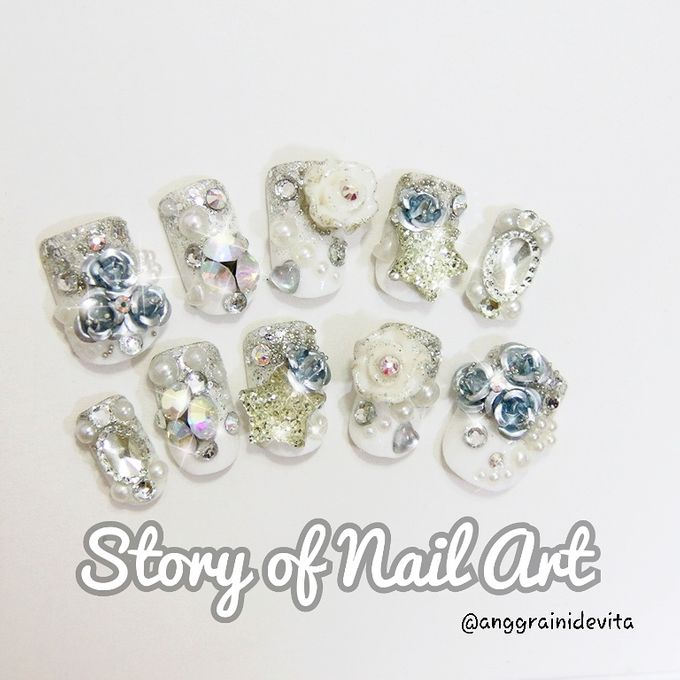 Fake Nails by Story of Nailart - 009
