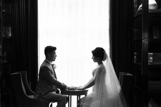The Wedding of Carin & Stephen by Costes Portrait - 028