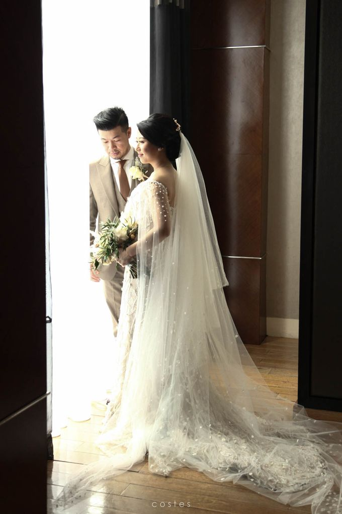 The Wedding of Carin & Stephen by Costes Portrait - 029