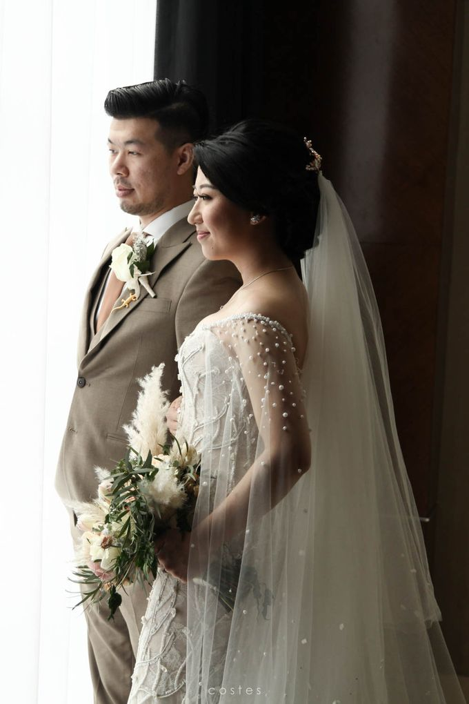 The Wedding of Carin & Stephen by Costes Portrait - 030