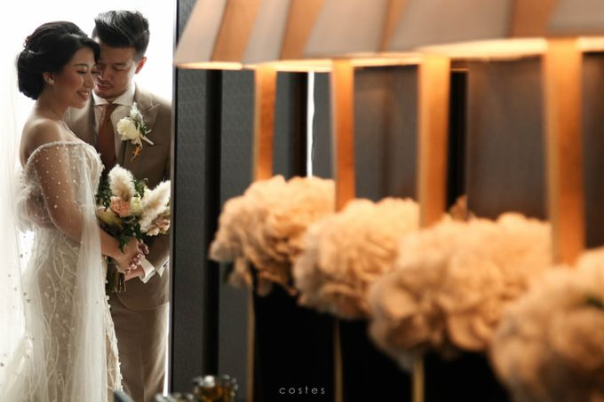 The Wedding of Carin & Stephen by Costes Portrait - 031