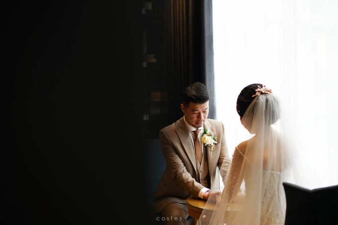 The Wedding of Carin & Stephen by Costes Portrait - 033