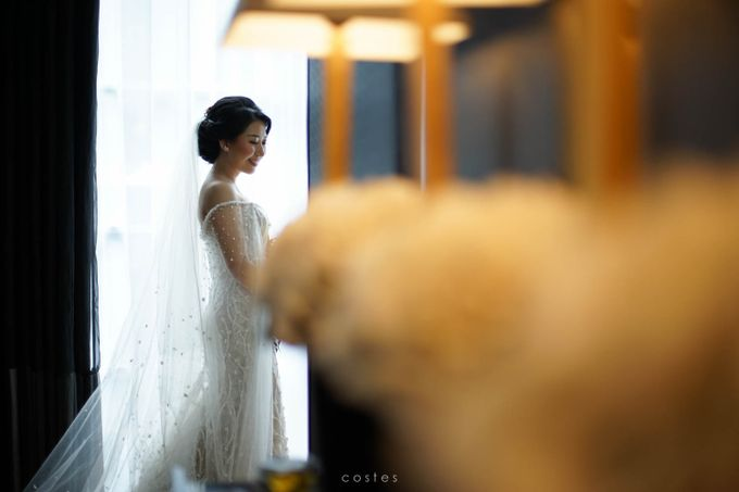 The Wedding of Carin & Stephen by Costes Portrait - 034