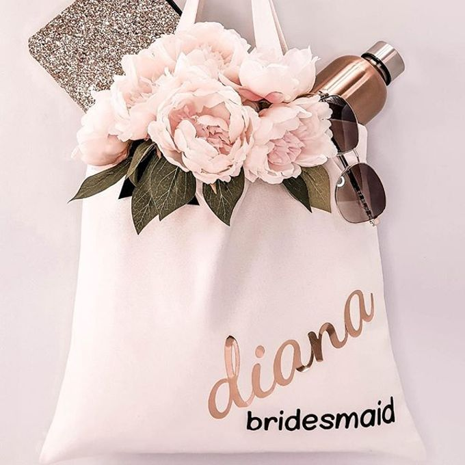Bridal Robes & Wedding Totes by First Blush Co. - 011