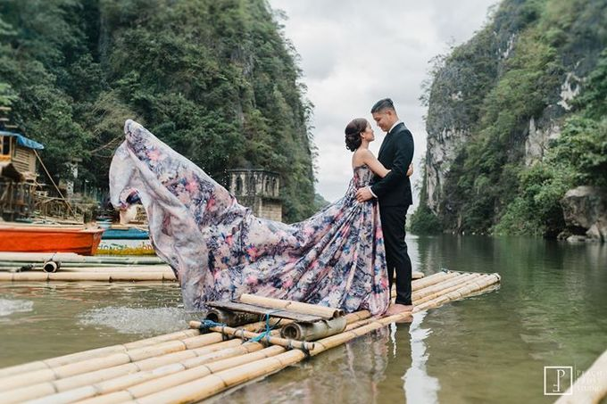 Nature Themed Pre Wedding of Jed & Joan by Peach Frost Studio - 044