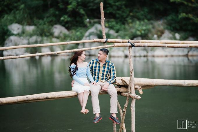 Nature Themed Pre Wedding of Jed & Joan by Peach Frost Studio - 007