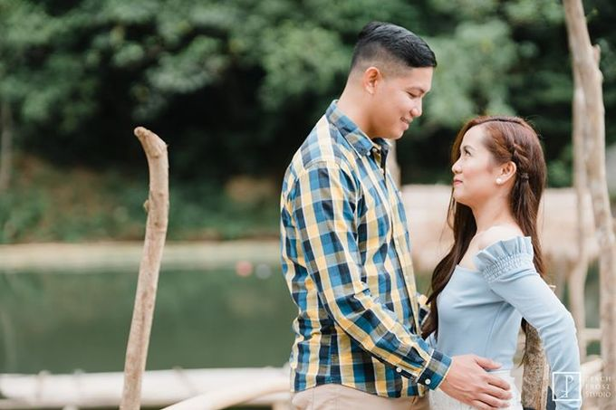 Nature Themed Pre Wedding of Jed & Joan by Peach Frost Studio - 003