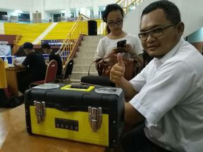 vendor HT Kejuaraan pencak silat nasional 2019 by ezzy vendor HT Handy Talky Event | Jakarta - Depok - 001