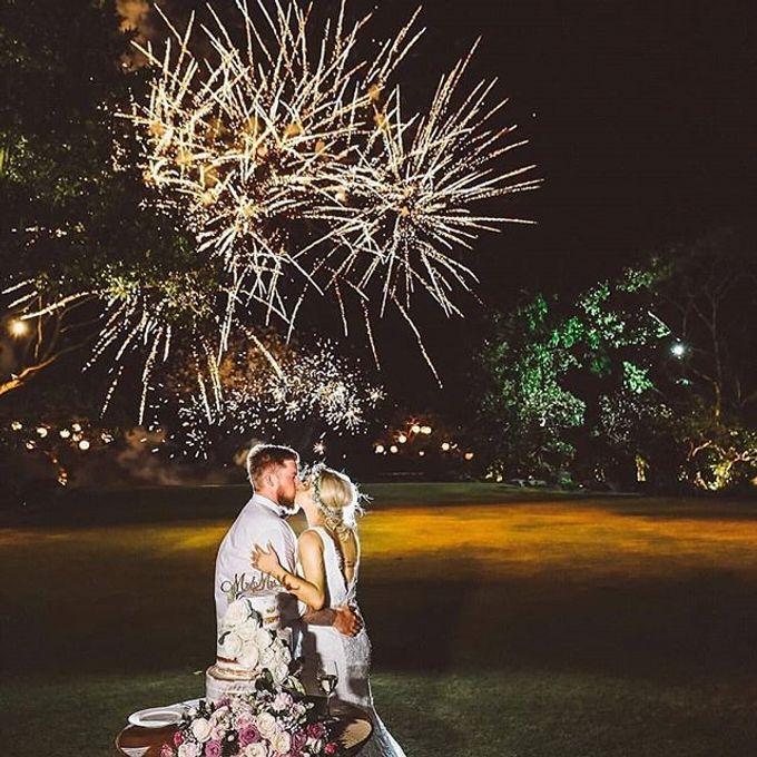 Fireworks & Special Effect Wedding Bali by JIBRIL FIREWORKS & SPECIAL EFFECT - 002