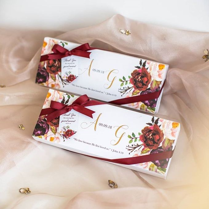 The wedding of Alex & Grace by Tea & Co Gift - 001