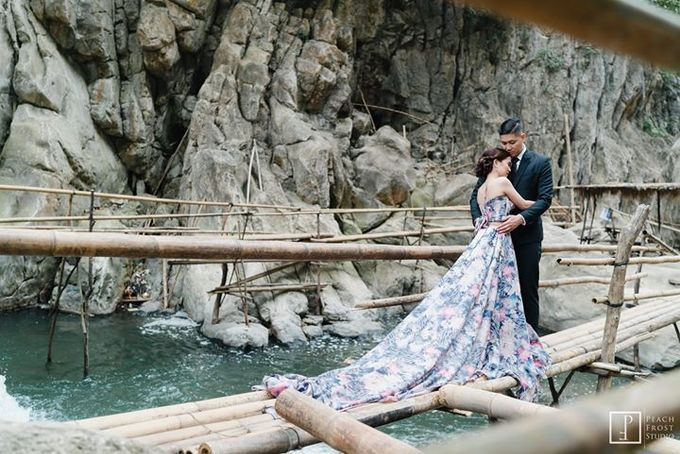 Nature Themed Pre Wedding of Jed & Joan by Peach Frost Studio - 046